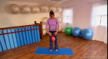 10 Minute Beginner   Intermediate Pilates Workout   Pilates on the Small Ball
