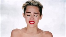 Miley Cyrus wrecked by the wrecking ball