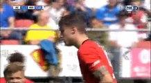 Wout Weghorst Penalty Goal HD - AZ Alkmaar 2-1 Heerenveen 07.08.2016