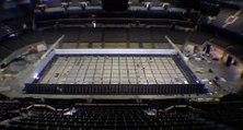 Transformation d'une salle de basket en piscine olympique pour les sélections olympiques américaines !