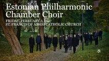 UMS 16-17: Estonian Philharmonic Chamber Choir | Feb 3