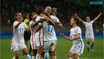 Equipo de Fútbol Femenino De EEUU Gana Partido Contra Francia