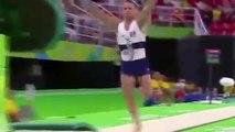 French Gymnast Samir Ait Said broke his leg during Rio Olympics