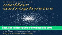 [Read PDF] Introduction to Stellar Astrophysics: Volume 2 Ebook Online