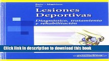 Books Lesiones Deportivas / Sports Injuries: Diagnostico, Tratamiento Y Rehabilitacion /
