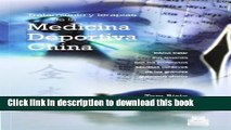 Books Tratamiento Y Terapias De La Medicina Deportiva China/ Treatment And Therapies Of The