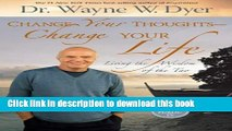 [PDF] Change Your Thoughts - Change Your Life: Living the Wisdom of the Tao Book Online