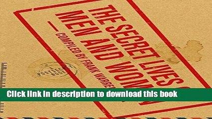 Read The Secret Lives of Men and Women: A PostSecret Book Ebook Free