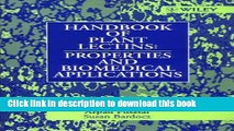 Download Handbook of Plant Lectins: Properties and Biomedical Applications Ebook Online