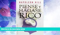 Big Deals  Piense y hagase rico (Spanish Edition)  Best Seller Books Most Wanted