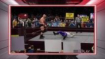 WWE 2K16 stone cold steve austin v gangrel highlights