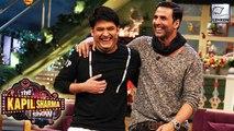 Akshay Kumar On The Kapil Sharma Show To Promote 'Rustom'   6 August 2016