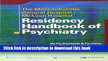 Ebooks The Massachusetts General Hospital/McLean Hospital Residency Handbook of Psychiatry