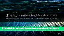 [Reading] The Innovation for Development Report 2009-2010: Strengthening Innovation for the