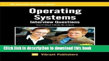 PDF  Operating Systems Interview Questions You ll Most Likely Be Asked (Job Interview Questions)