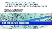 [PDF] AutoCAD 2015 for Interior Design and Space Planning Full Online