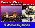Italia Bella de Radio - Emitido 5 de Agosto 2016 - Maria e Rocco Guiducci FIrenze Italia