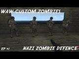 CoD WaW Zombies │ Nazi Zombie Defense