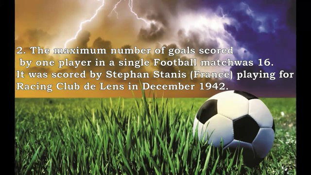 Top 10 Facts about Football (Soccer) probably you never knew- Amazing Facts