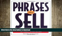DOWNLOAD Phrases That Sell : The Ultimate Phrase Finder to Help You Promote Your Products,