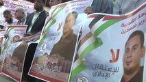 "Açlık Grevindeki ""Filistinli Tutuklulara"" Destek Gösterisi"