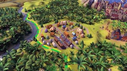 First Look Brazil de Civilization VI