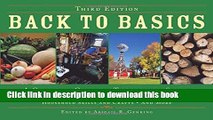 [Popular Books] Back to Basics: A Complete Guide to Traditional Skills, Third Edition Full Online