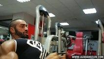 Lazar Angelov_ Ngày tập ngực - xô - lưng của Lazar