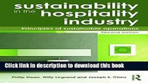 [Popular Books] Sustainability in the Hospitality Industry 2nd Ed: Principles of Sustainable