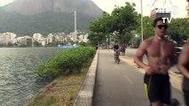 Remo anulado y tenis retrasado por viento en Rio