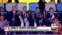 N. Korea appears to be putting efforts in sports diplomacy in Rio