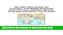 [Popular Books] The 2007-2012 Outlook for Consumer Non-Riding Dual-Stage Snow Throwers and Snow