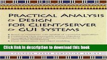 [Popular] Book Practical Analysis and Design for Client/Server and GUI Systems Full Online