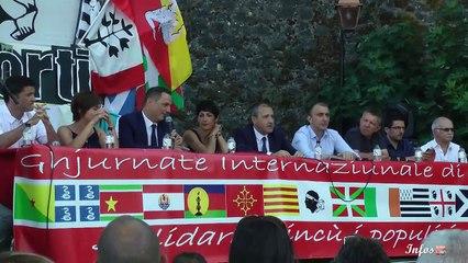 Ghjurnate Internaziunali di Corti : le président de l'Exécutif à la tribune (interview de Gilles Simeoni)