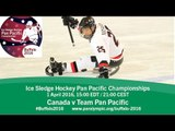 Canada v Team Pan Pacific | Prelim | 2016 Ice Sledge Hockey Pan Pacific Championships, Buffalo