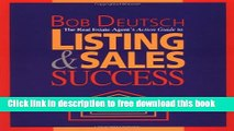 [Reading] The Real Estate Agent s Action Guide to Listing and Sales Success New Online