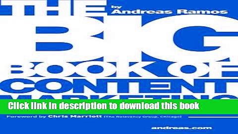 [Read PDF] The Big Book of Content Marketing: Use Strategies and SEO Tactics to  Build