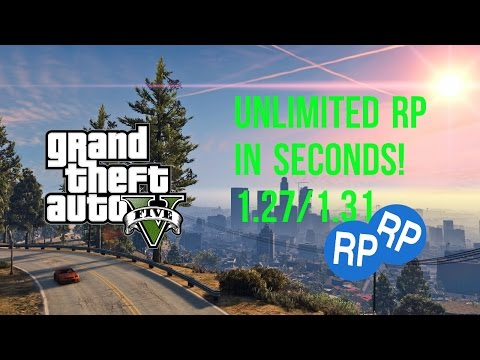 1000+ RP IN SECONDS – UNLIMITED GTA 5 GLITCH AFTER 1.27/1.31