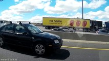 VW distracted driver - hands off steering wheel