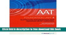 [Reading] AAT NVQ: Unit 4 (AAT WORKBOOKS) (Paperback) - Common New Online