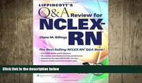 READ book  Lippincott s Q A Review for NCLEX-RN® (Lippincott s Review for Nclex-Rn) [Paperback]