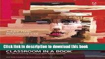 [Popular Books] Adobe Flash Professional CS6 Classroom in a Book Full Online