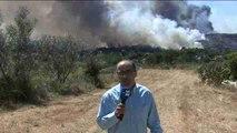 Informe a cámara: Suben a ocho los grandes incendios forestales en Portugal