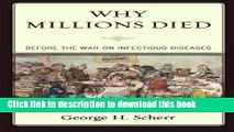 Download Why Millions Died: Before the War on Infectious Diseases [Free Books]