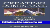 Ebook Creating Dominance: Winning Strategies for Law Firms Full Online