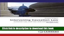 Ebook Intervening Causation Law  Common Law, Civil Law and Comparative Law Perspectives Free