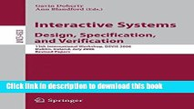 [Popular Books] Interactive Systems. Design, Specification, and Verification: 13th International