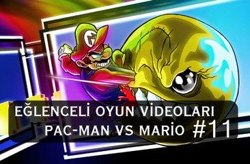 Pac-Man VS Mario - Eğlenceli Oyun Videoları #11