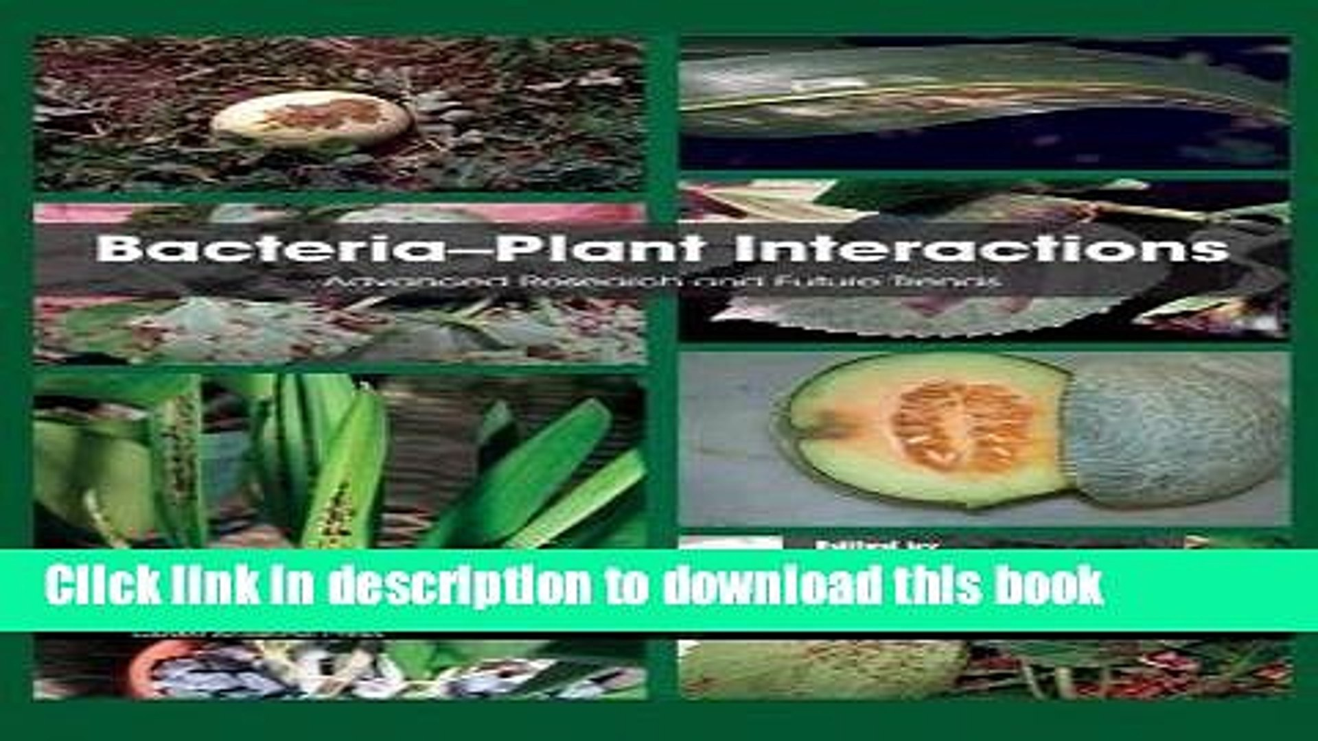 [PDF] Bacteria-Plant Interactions: Advanced Research and Future Trends Full Online