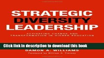 [Fresh] Strategic Diversity Leadership: Activating Change and Transformation in Higher Education